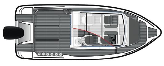 Technical drawing, Bella 700 RAID layout.